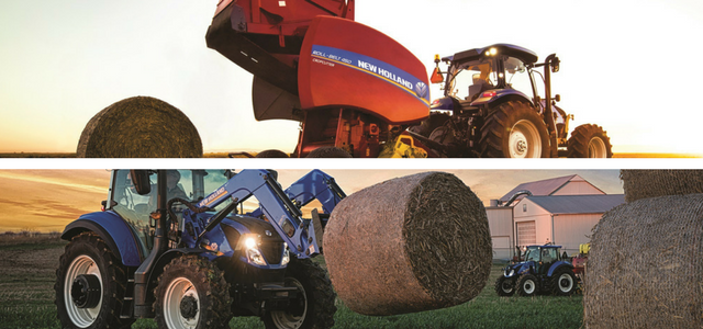 New Holland Haying Equipment