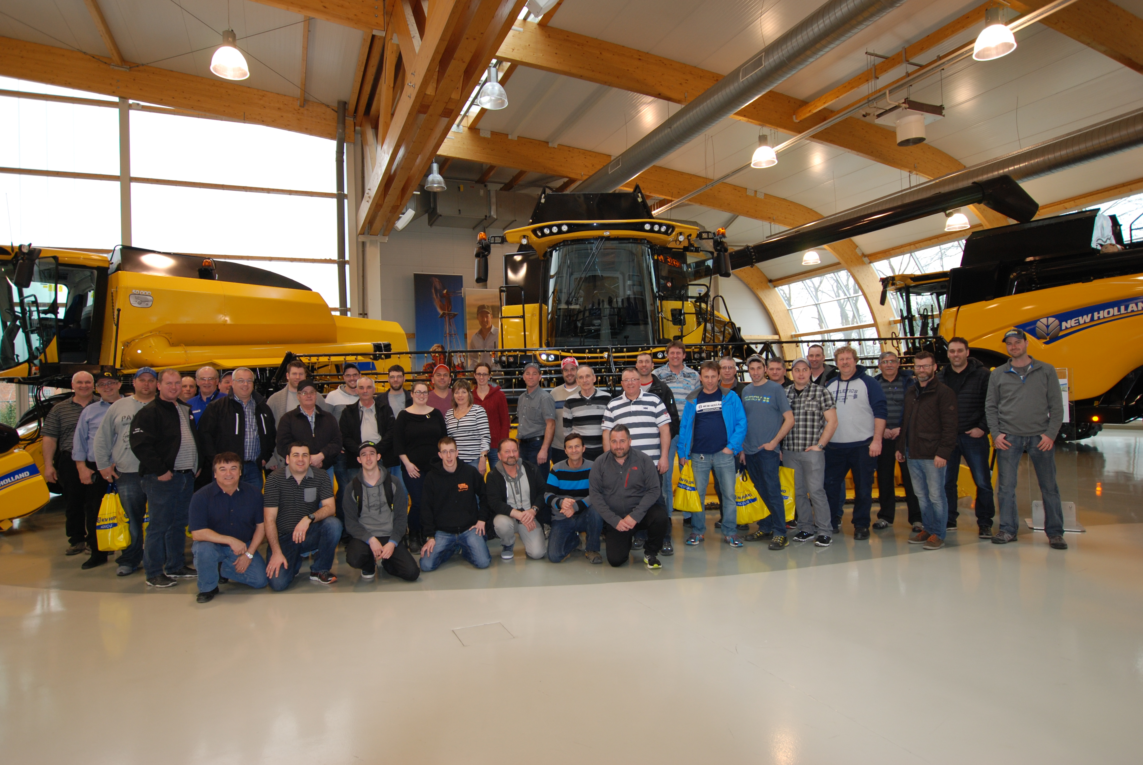 TERAPRO visite les usines New Holland en Europe!